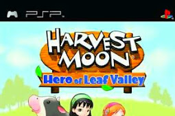 ROM Game Harvest Moon Hero Of Leaf Valley (Full Indo Google Translate) PSP