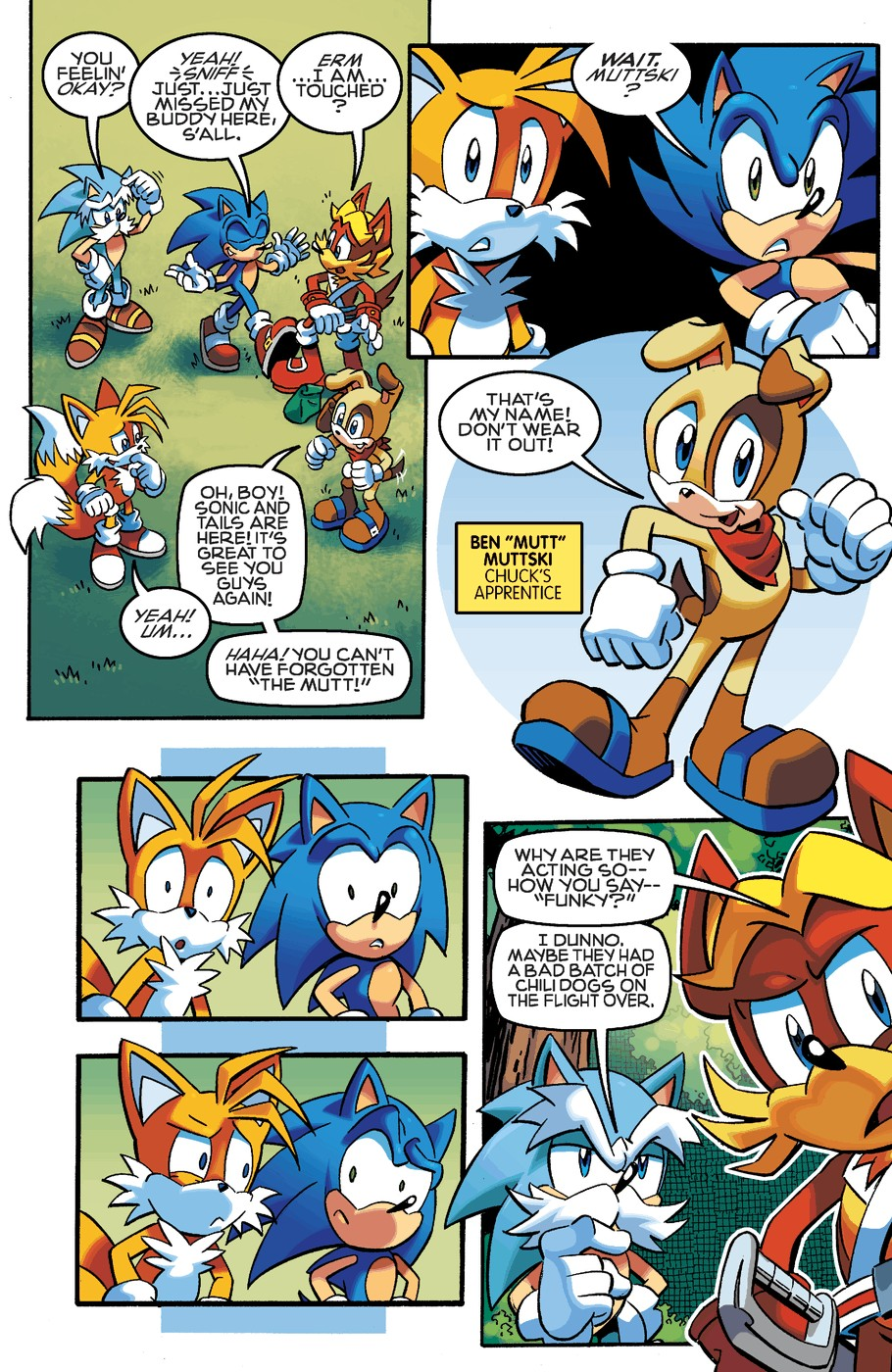 Read online Sonic The Hedgehog comic -  Issue #254 - 9