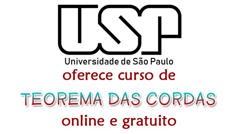 USP oferece curso online e gratuito sobre Teorema das Cordas