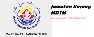 Jawatan Kosong Terkini Majlis Daerah Tanjong Malim