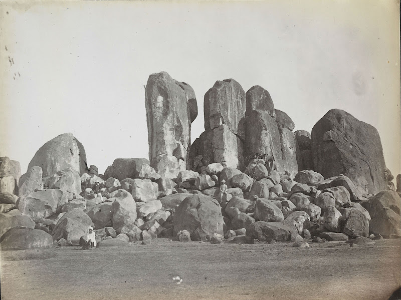 Dubrajpur Rocks, Birbhum, Bengal - 1870