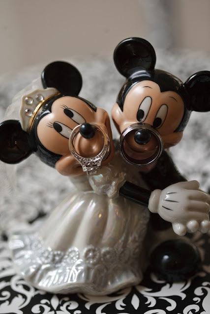 At Home Disney Wedding - Ring Shot