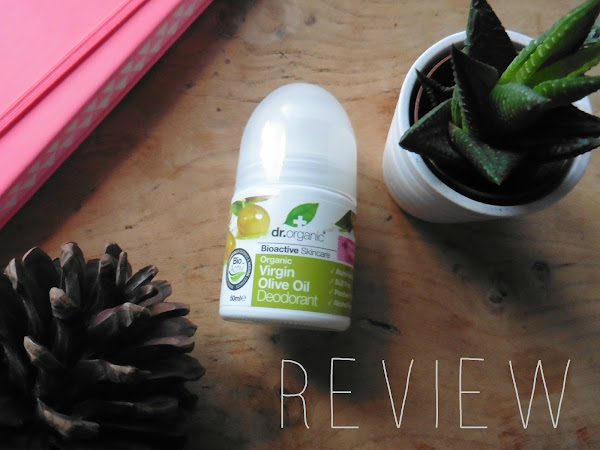 Dr.Organics Virgin Olive Oil Deodorant| Cruelty free| Vegan| Review