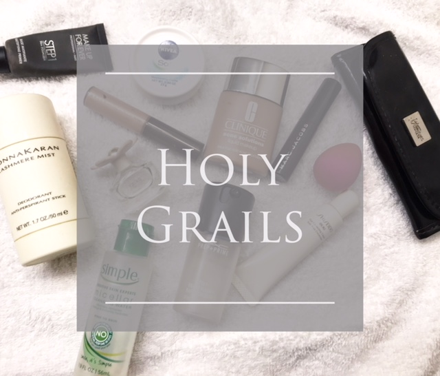holy grails, holy grail products, skincare products, beauty products, makeup products, top beauty products, top skincare