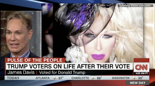 Trump-supporting drag queen Elaine Lancaster feels wrath of LGBTQ community