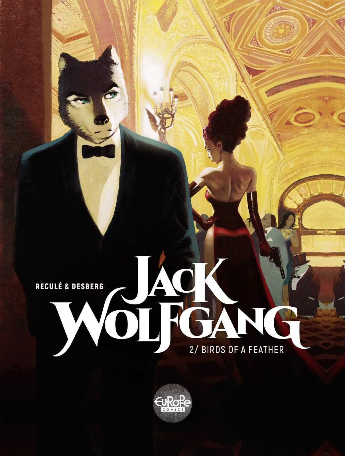 Read online Jack Wolfgang comic -  Issue #2 - 1