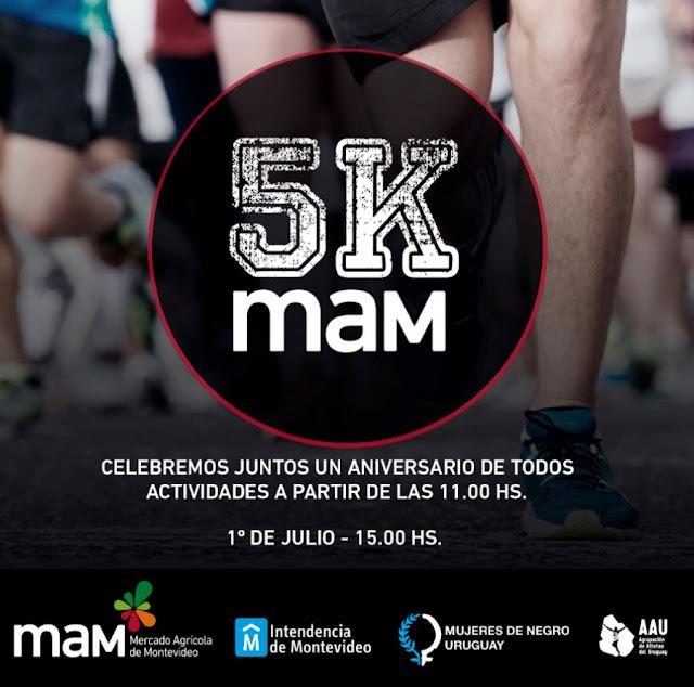5k MAM - Mercado Agrícola de Montevideo (01/jul/2018)