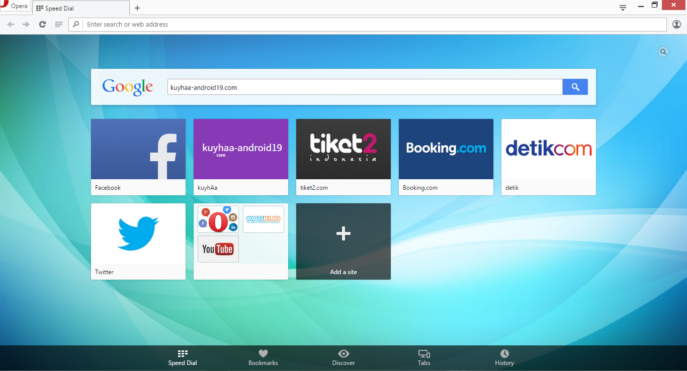 Opera Web Browser For Pc 33.0.1990.43 Free Latest