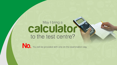 May I bring a calculator  to the JAMB test centre?