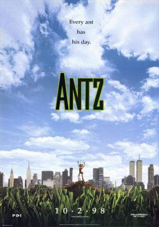 Antz 1998 WEB-DL Hindi 700MB Dual Audio 720p