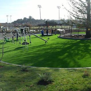 Greatmats artificial grass for playgrounds