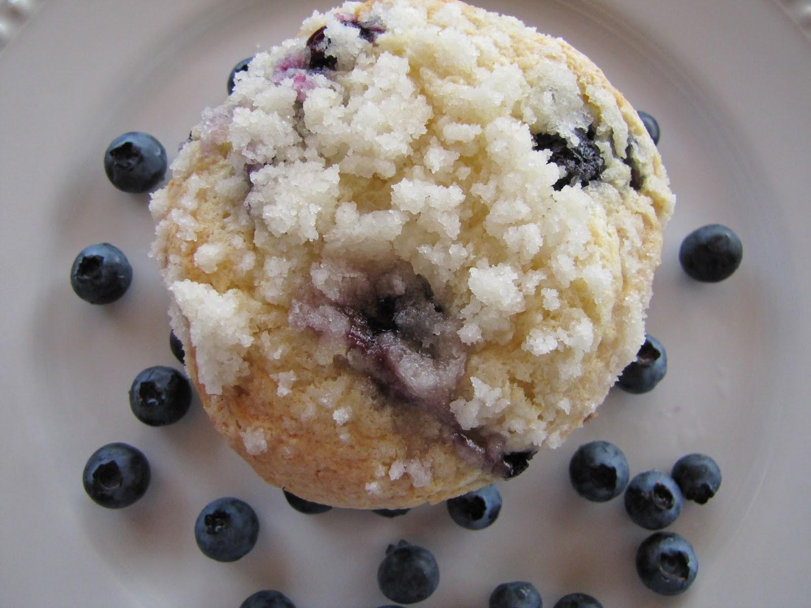 Big Mama's Home Kitchen: Bakery Style Jumbo Blueberry ...