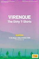 Concierto de Virenque y The Dirty Tshirts en Wurlitzer Ballroom