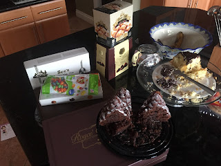 Chocolate Rich Kitchen Counter, Jan 2