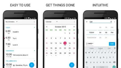 Aplikasi Pengingat Terbaik Untuk Android Tahun 2017