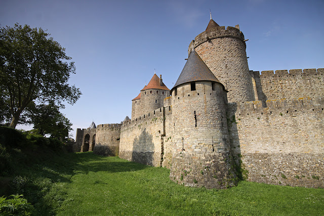 Carcassonne mury
