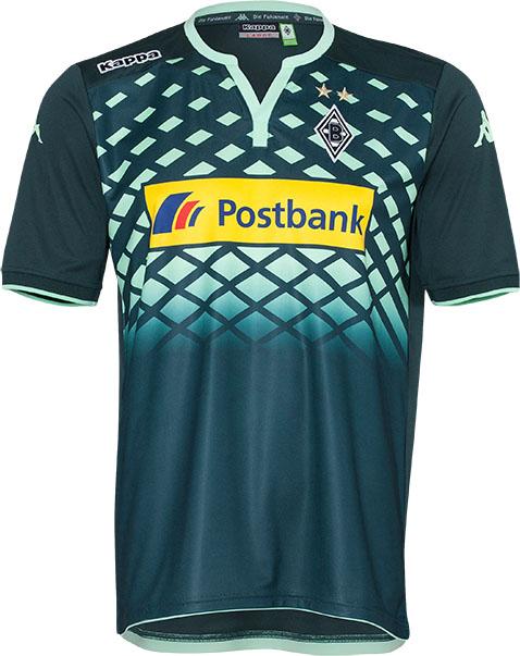 Kappa lança as novas camisas do Borussia Mönchengladbach - Show de ... 56f3b5015b140