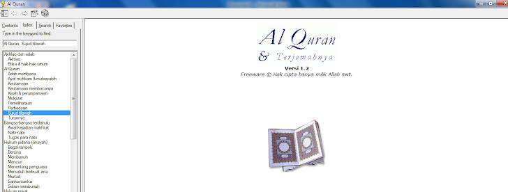 Download Software Al Quran Dan Terjemahan Terbaik Untuk Komputer/PC