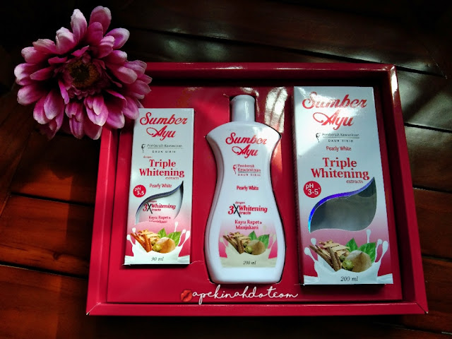 Sumber Ayu, Whitening Pearly White,