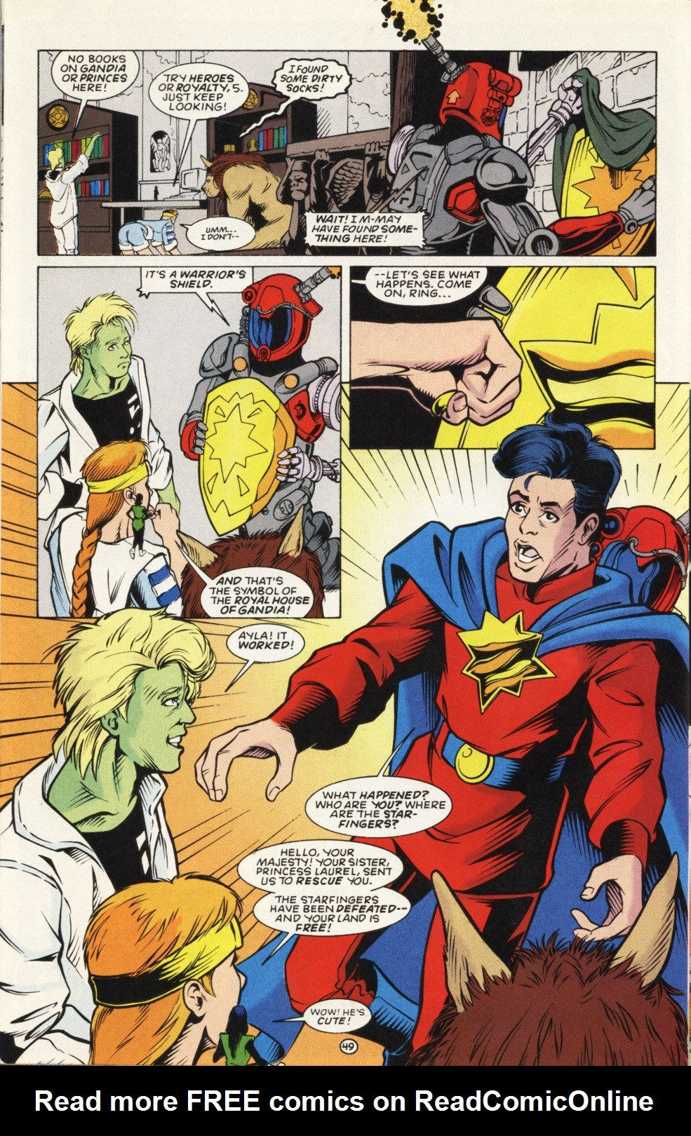 Legion of Super-Heroes (1989) _Annual_6 Page 49