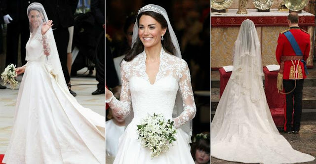 vestido noiva princesa disney wedding dress kate middleton duquesa cambridge classico manga veu grinalda realeza familia real
