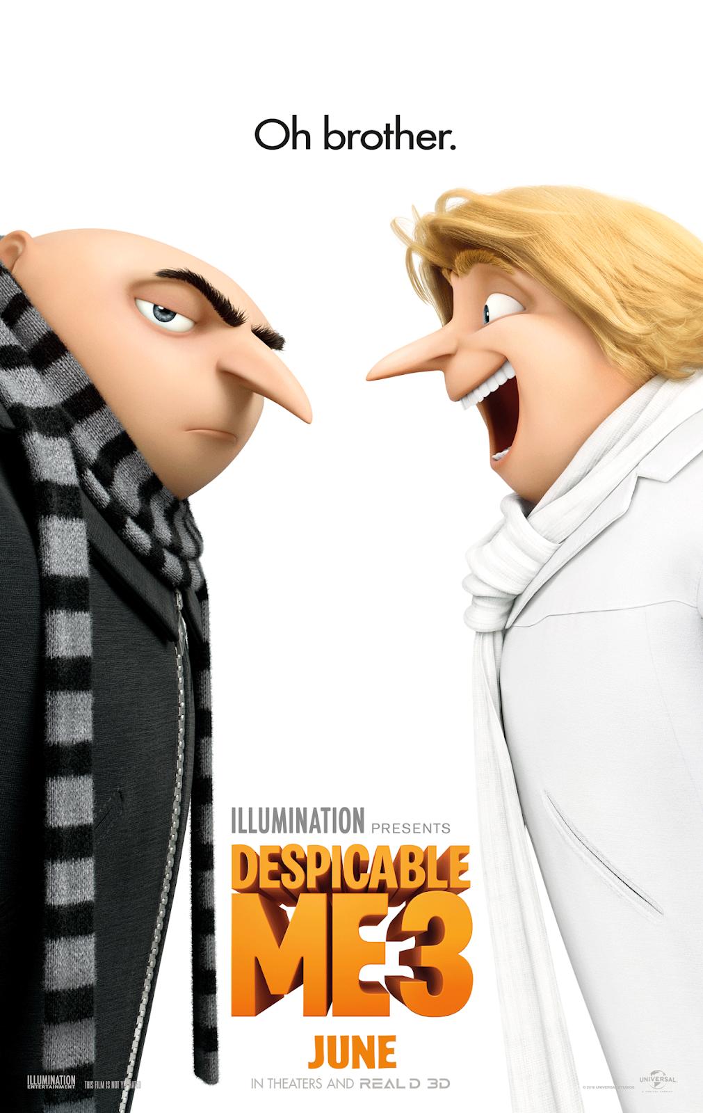 Despicable Me 3 2017 Dual Audio