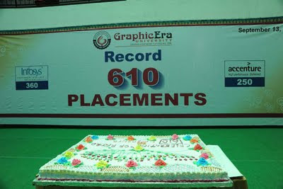 Graphic Era University Dehradun Celebrates Record Placements in 2011