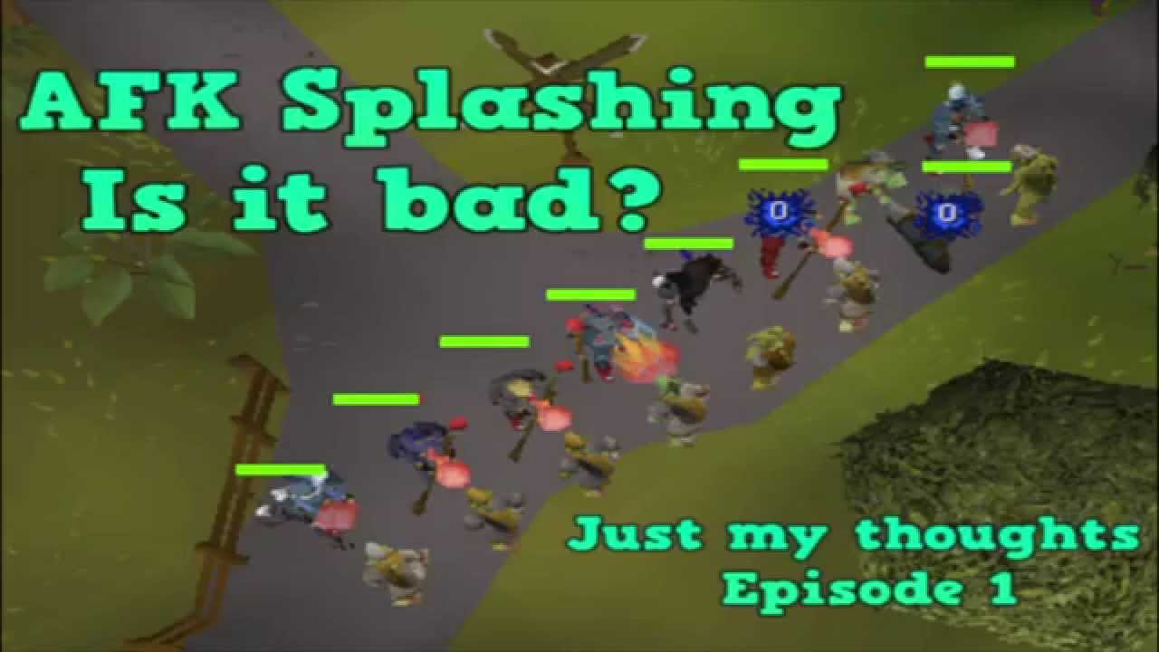 Osrs Splashing Xp