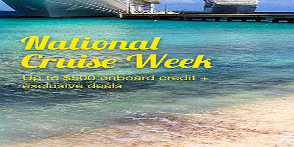 National cruise week deals on Expedia