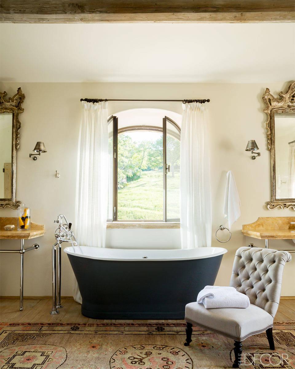 Master Bathroom Ideas For White Interior: Lamb & Blonde: An Elegant Italian Farmhouse
