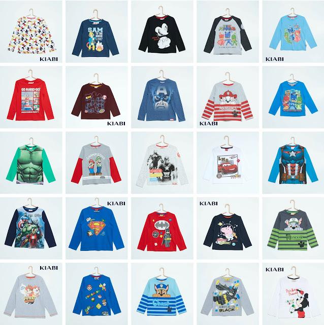 camisetas-personajes-animacion-kiabi