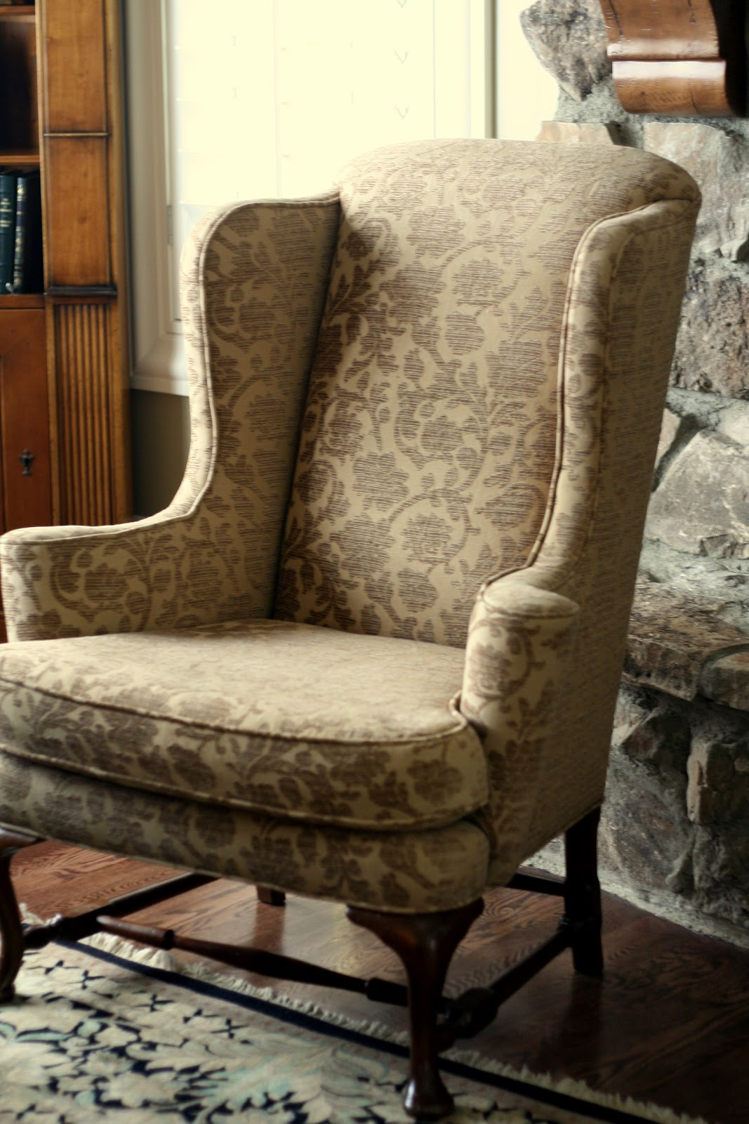 Outstanding Tan Linen Wingbacks Slipcovers By Shelley Gmtry Best Dining Table And Chair Ideas Images Gmtryco