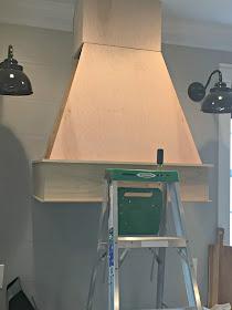 tapered DIY vent hood