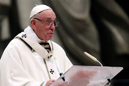 Pope Urge To Forgo Greed and Gluttony of Christmas for Simple Love