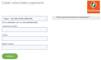 Steps On How To Recharge Startimes Online - Startimes Recharge Payment
