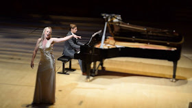 Nina Sveistrup Clausen (soprano) and Janus Araghipour (piano) at last year's London Bel Canto Festival