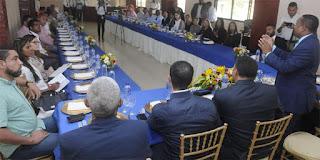 Alcalde René Polanco insta a empresarios a creer en Santo Domingo Norte