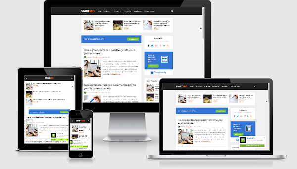 StartSeo blogger template free download