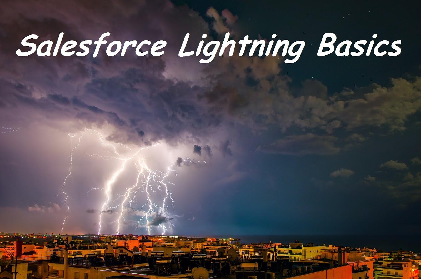 Salesforce Lightning Basics - SFDC Stop