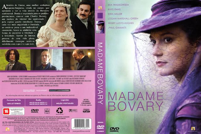 Capa DVD Madame Bovary
