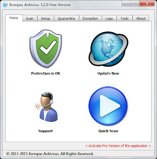 Kompas Antivirus - Antivirus Portabel karya anak bangsa yang patut dibanggakan