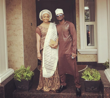 Anita Okoye steps out for the first time since welcoming twins (photos)