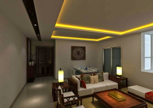 living room lighting ideas ceiling back light