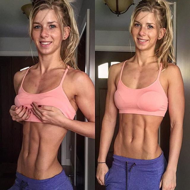 Fitness Model Iris Salihagic