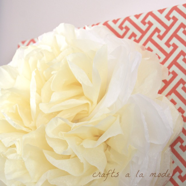 How to Create Your Own Paper Flower Wall Art for under $5