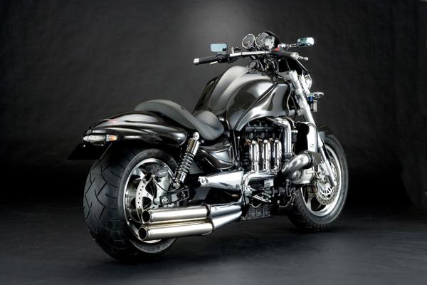 Racing Caf U00e8  Triumph Rocket Monster Sr By Carbon Dry Japan