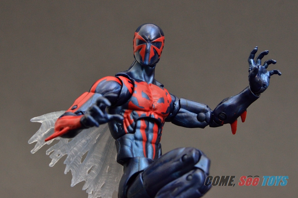 Spiderman 2099: Come, See Toys: Marvel Legends Infinite Series Spider-man 2099