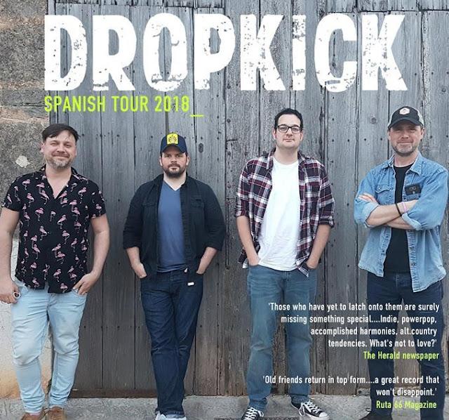 Dropkick - Gira en Julio por España