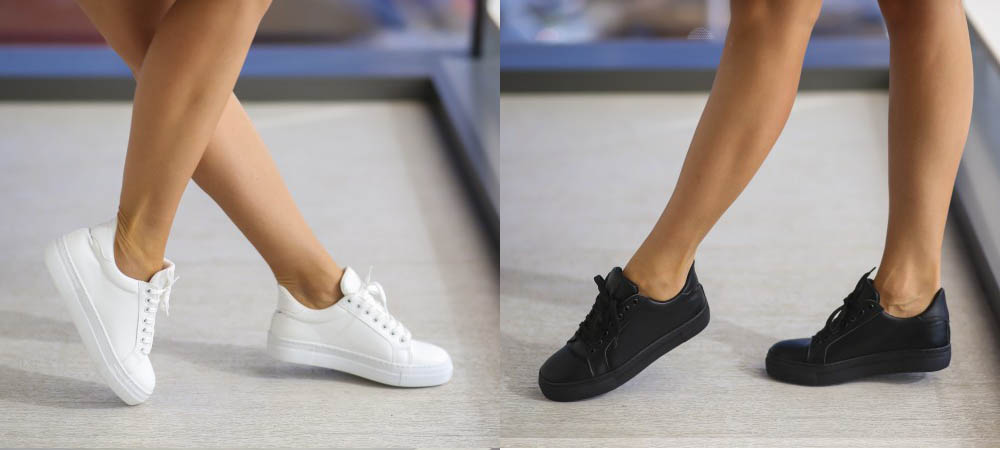 Adidasi dama albi, negri la preturi mici comenzi online