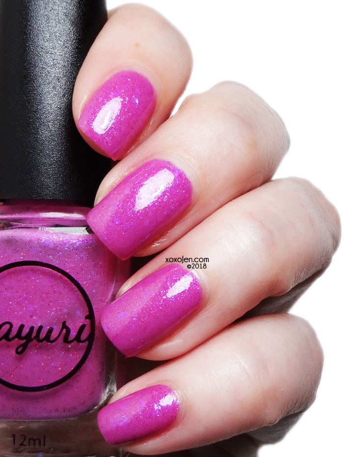 xoxoJen's swatch of Sayuri Nail Lacquer Nerf This!